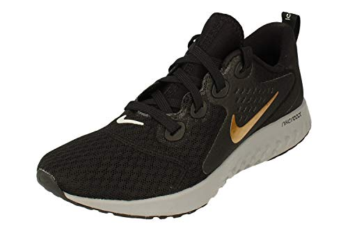 Nike Women's Running Shoes, Black Metallic Gold Atmosphere, 6 us
