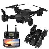 INKPOT Drone GPS JJRC H78G 5G WiFi FPV Rc Drone Pieghevole con videocamera HD...