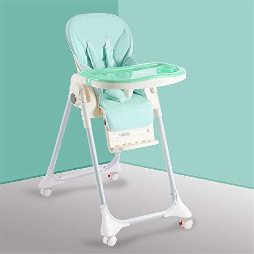 Chaise haute Siège d'appoint pour bébé chaise haute Chaise de salle à manger pour enfant portable avec plateau d'alimentation Table Slip Safety confortable et réglable en hauteur Alimentation pliable