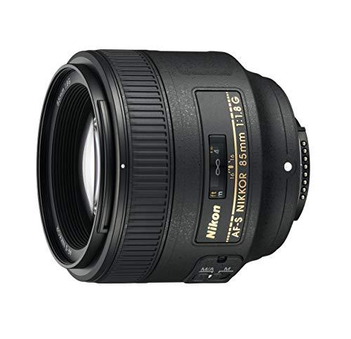Nikon 85mm f/1.8G AF-S FX Nikkor Lens - (Renewed)