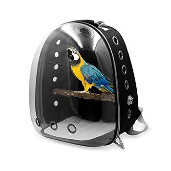 Sac à Dos de Transport Cage à Oiseaux Aviaire Birdhouse pour Perroquet Perruche Caca