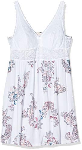 Triumph Damen Amourette Spotlight NDK Print Nachthemd, Mehrfarbig (White-Dark Combination M016), (Herstellergröße: 38)