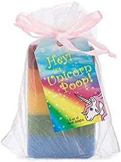 Unicorn Poop Soap: a Magical, Sparkly, Unique Unicorn Gift for the Unicorn-lover in your Life (1 Bar of Handmade Soap)