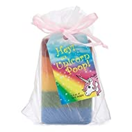 Outlaw Unicorn Poop Soap: a Magical, Sparkly, Unique Unicorn Gift for the Unicorn-lover in your Life (1 Bar of Handmade Soap)