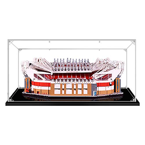 Vitrina de Acrílico para Lego 10272 Old Trafford - Manchester United, Display Case Vitrinas para Colecciones Modelismo (Solo Vitrina) (2 mm de Espesor)