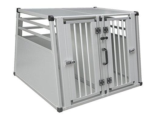 Nobby Aluminium Carbox doppelt B x T x H: 92 x 88 x 68 cm