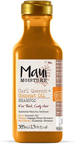 Maui Moisture Coconut Oil Shampoo, 385 ml