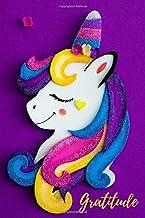 Gratitude: For collecting goals  unicorn practice journal (Gratitude unicorn)