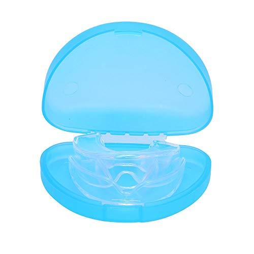 Leepesx Protège-dents pour le meulage des dents avec étui de rangement 2 tailles 4 PCS Protège-dents Moulable Night Guards pour Anti Dents Grinding