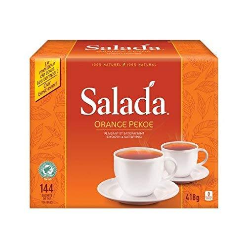 Salada Black Tea for smooth and satisfying taste Orange Pekoe 100% Rainforest Alliance Certified 144 count