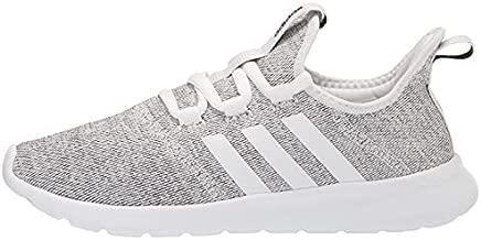 adidas Women's Cloudfoam Pure 2.0 Running Shoe, White/White/Black, 6