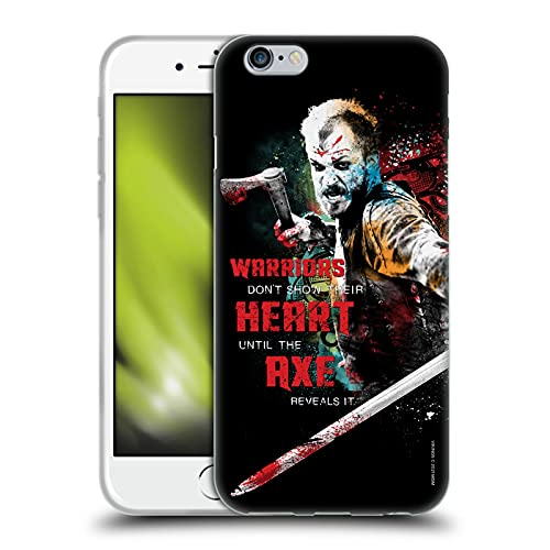 Head Case Designs Licenza Ufficiale Vikings Floki Arte Personaggio Cover in Morbido Gel Compatibile con Apple iPhone 6 / iPhone 6s