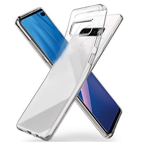 Chalpr Hülle Kompatibel mit Samsung Galaxy S10, Anti-Vergilbung TPU Transparent Silikon Superdünn Weich Schutzhülle, Kratzfest Stoßfest Durchsichtige Handyhülle Kompatibel mit Samsung Galaxy S10