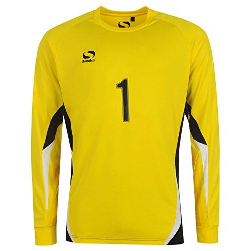 Diseño de los boca Core Sondico Kids de portero de fútbol de balón de fútbol T-camiseta de manga corta en la parte superior y de manga larga para cuello redondo