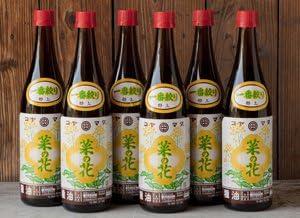 【ギフトにも最適】コヤマダ(小山田産業)の菜種(なたね)油 720ml瓶6本詰め合わせ(箱入) 完全無添加・無農薬、100%国産菜種。