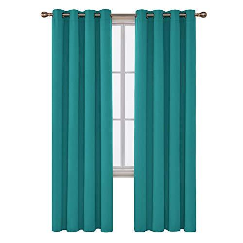 cortina turquesa fabricante Deconovo