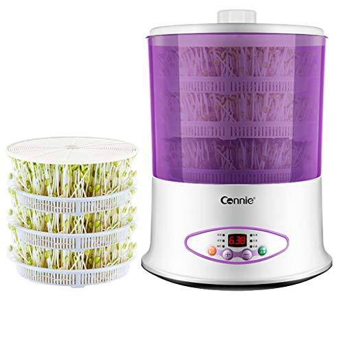 Machine de vin de Riz de Yaourt de germes de soja, Rendez-Vous à la Maison Timing Germination Germination Vert Culture Grande capacité
