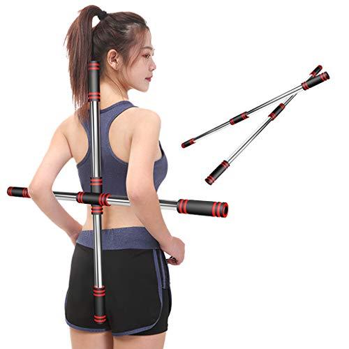 Gogokids Barra de Yoga - 2 Palos Body Bar para Bailar Asistente de Ejercicio Físico, Barra de Corrección de Espalda
