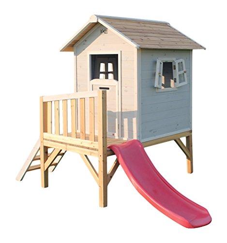 EXIT Beach 300 Wooden Playhouse - Grey - Casas de Juguete (Casa de Juegos sobre...
