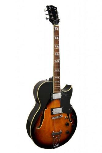Glen Burton GE775-CHIC-TS'Chicago' Hollowbody Electric Guitar, Sunburst