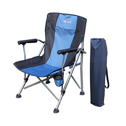 Decoratieve stoel CSQ-draagbare strandstoel, campingstoel balkon stoel outdoor stoel industriële stoel thuisstoel lunch pauze stoel grootte: 60 * 95CM opvouwbaar