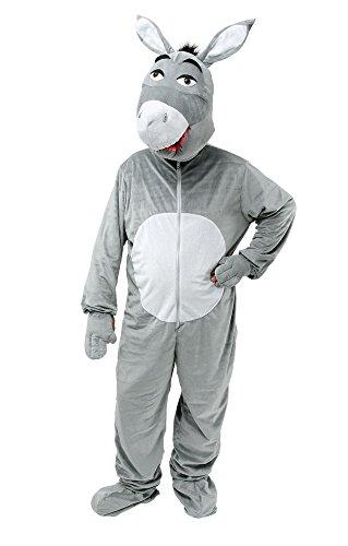 DONKEY - Disfraz de burro para hombre, talla 52-54 (AC938)