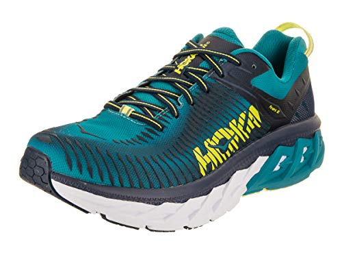HOKA ONE ONE Men's Arahi 2 Running Shoe Caribbean Sea/Dress Blue Size 12 D US