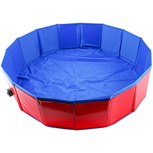 Piscina Piscina Piscina Plegable portátil Piscina para Perros Gatos Bañera Bañera Bañera Lavar Tina Agua Pool Pool