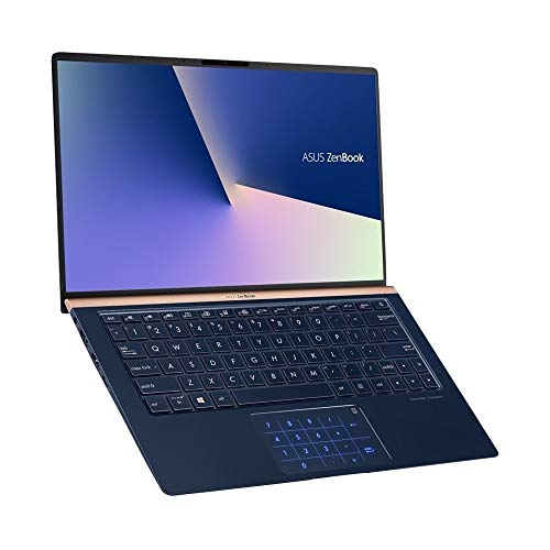 "ASUS ZenBook UX333FA-DH51 Laptop (Windows 10, Intel Core i5-8265u 1.6GHz, 13.3"" LCD Screen, Storage: 256 GB, RAM: 8 GB) Dark Royal Blue"