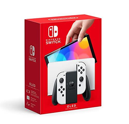 Nintendo Switch – OLED Model w/ White Joy-Con