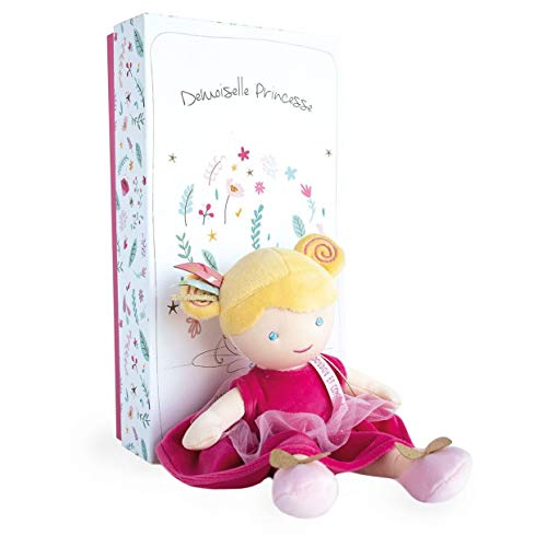 Doudou et Compagnie DC3532 - Bambola in tessuto, 30 cm, rosa