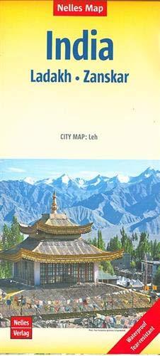 India : Ladakh, Zanskar | Indien : Ladakh, Zanskar | Inde : Ladakh, Zanskar: 1:350.000 | reiß- und wasserfest; waterproof and tear-resistant; indéchirable et imperméable; irrompible & impermeable