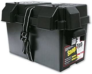 NOCO Black HM318BKS Group 24-31 Snap-Top Box for Automotive, Marine, and RV Batteries