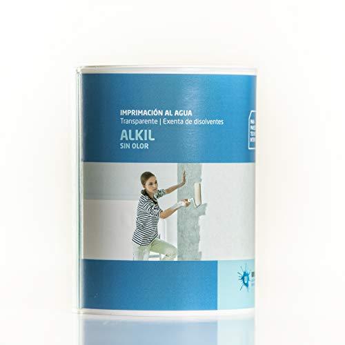 Ursan - Alkil Imprimación al Agua, sellante incolora para paredes de interior 750ml. Imprimación previa a pintura de paredes y techos.