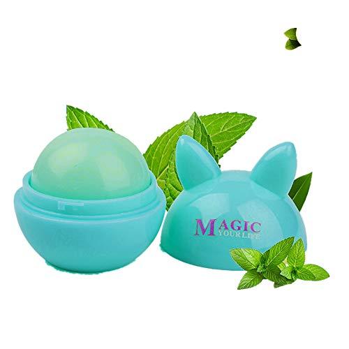 Yazidan Bunt Wasserdicht Lange andauernd Befeuchten Lippenstift Lipgloss Früchte Geruch Veränderbar Farbe Beliebt Zauber Fruchtig Temperatur Veränderung Feuchtigkeitscreme Lippen Kosmetik(B)