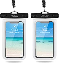 ProCase Waterproof Phone Pouch 2 Pack, Universal Cellphone Waterproof Underwater Case Dry Bag for iPhone 12 Pro Max 11 Pro Xs XR X 8 7 6S, Samsung Galaxy S20 S10 S9 S8 Pixel up to 7.0