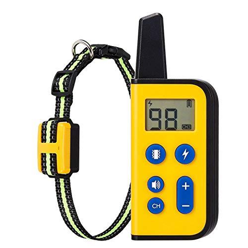 DUTUI Remote-Hundetrainingsgerät, Rindenstopper Für Haustiere, Elektronisches Halsband Für Hundetraining, Wasserdicht Und Wiederaufladbar, Tierbedarf