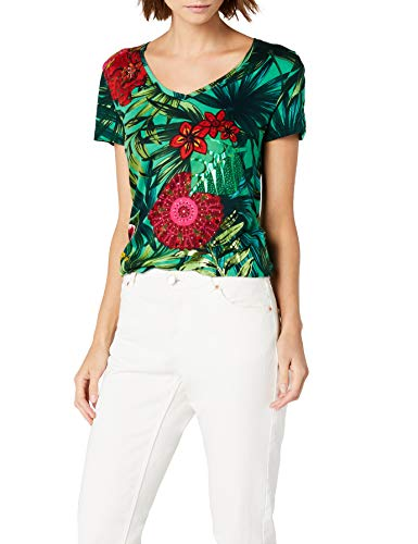 Desigual TS_Carlyle Camiseta para Mujer