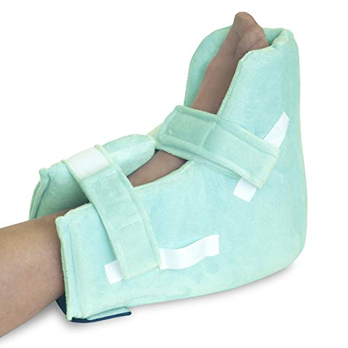 NYOrtho Boot Heel ProtectorCushion -Pressure Relieving Pillow Boot with Suspension Boot Fabric Zero-G Boot™| Free Removable Heating/Cooling Gel Pack Included| Petite