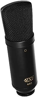 MXL 440 Multipurpose Large-Diaphragm Studio Condenser Microphone