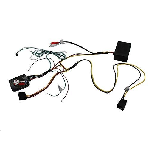 Interface Commande au volant MC13-JVC compatible avec Mercedes 02-10 Fakra Ampli fibre