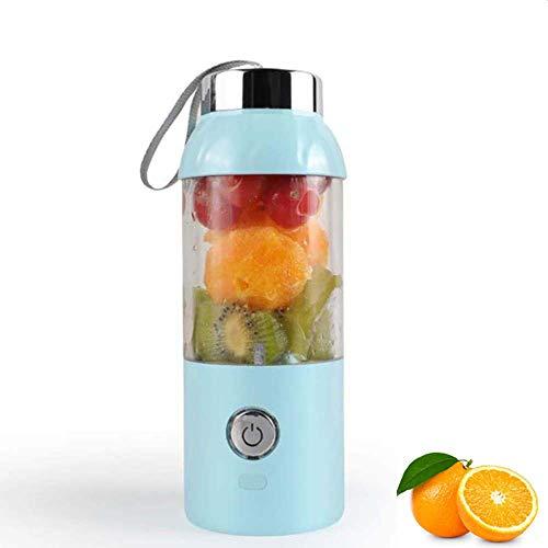 WXYLYF USB aufladbare Juicer Cup tragbare elektrische automatischer Gemüse Obst-Saft-Hersteller Cup Entsafter Mixer Flasche, für zu Hause, Reisen