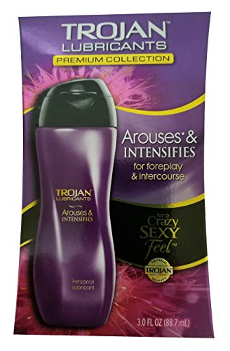 Trojan Lubricants Personal Lubricant Arouses & Intensifies - 3oz, Pack of 2