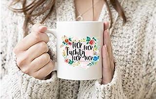 JIPIMUG Fckity Fck,Sarcastic Mug,Let it go,Retirement, Boss,Gag- 11OZ Coffee Mug