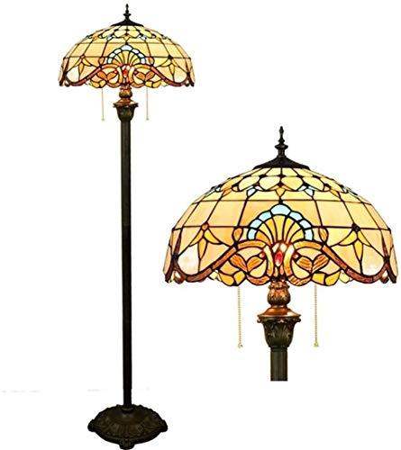 no bran Lámpara de Mesa Pintada Lámparas De Pie Lámparas Luces De La Habitación De Color Suelo De Cristal De La Lámpara Sala De Estar Dormitorio Bar Restaurante