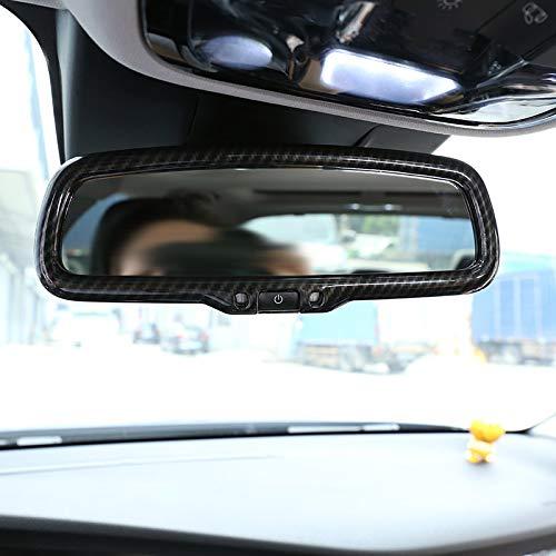Cikuso Stile in Fibra di Carbonio per Alfa Romeo Giulia Stelvio 2016 2017 2018 ABS Plastica Car Interior Specchietto Retrovisore Trim Accessori Trim