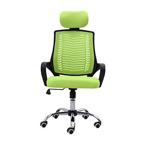 Busirsiz Comfortable office swivel chair, ergonomic design, reclining and adjustable staff gaming chair, backrest and waist can be rotated for office study furniture