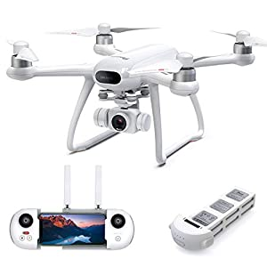 Potensic Dreamer Drones with 4K Camera for Adults, 31Mins Flight 2Hrs Charge, GPS RC Quadcopter for Beginner, Brushless Motors, Auto Return, Altitude Hold, 5.8G WiFi, Fast Speed Long Control Range