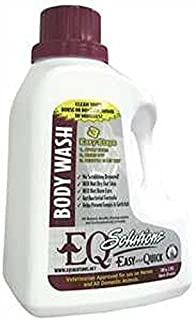 Equine Solutions Horse Body Wash 100 oz All Natural Biodegradable No Scrubbing