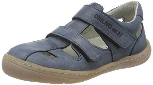 Däumling Unisex-Kinder Milena Geschlossene Sandalen, Blau (Chalk Jeans 42), 34 EU